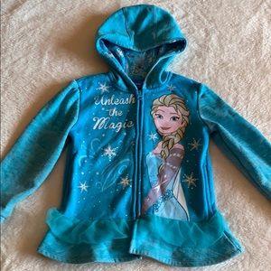 Gently used Elsa hoodie